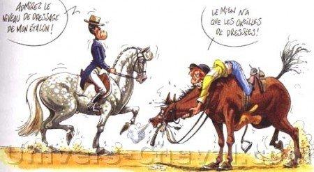 blague cheval